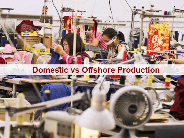 Domestic vs Offshore Production