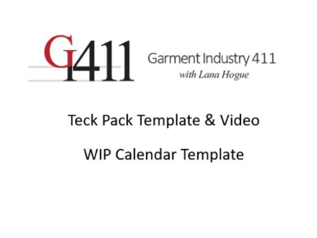 WIP Calendar Template